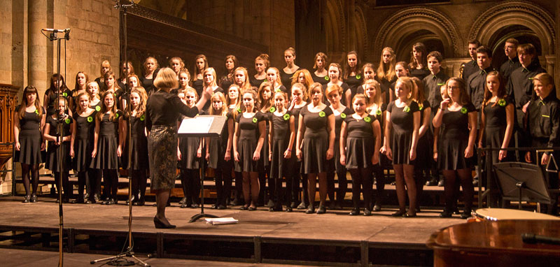 Romsey Youth choir   Find out about the choir and what we ...